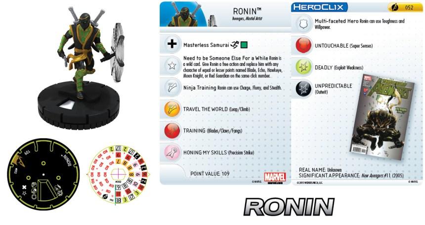 Marvel HeroClix: Avengers Assemble Ronin