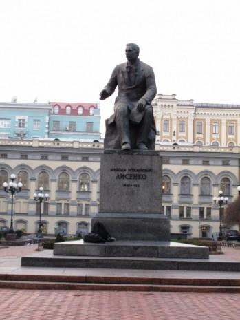 Пам'ятник Миолі Лисенку у Києві