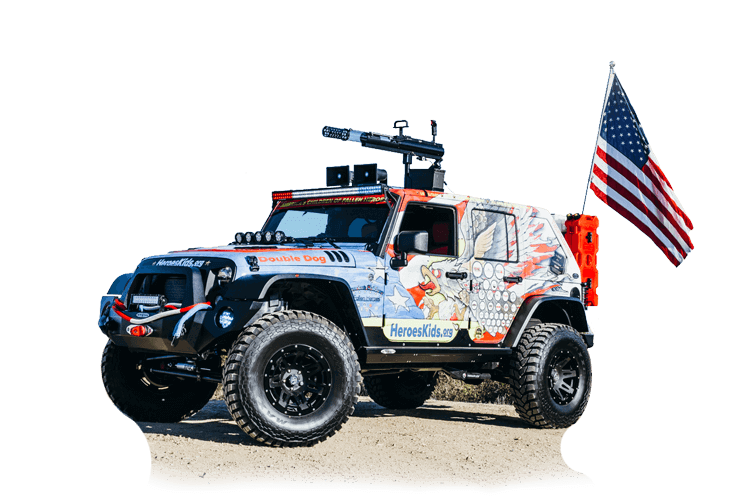 Grateful Nation Tour and the Double Dog Jeep