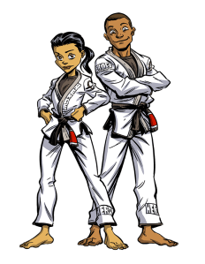 Heroes Martial Arts Students Posing