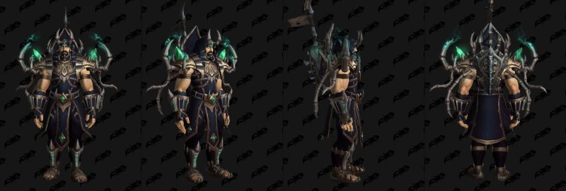 Necrolords Maldraxxus Cloth Tier 1