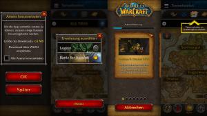 Vorschau auf die neue Version der WoW Companion App