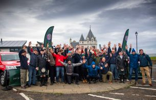 """Photos of HERO Lejog 2019 (7-10/12/2019). All rights reserved. Editorial use only for press kit about Lejog 2019. Any further use is forbidden without previous Author's consent. Author's credit """"©Photo Blue Passion"""" is mandatory"""