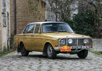 Rally Volvo frontqtr
