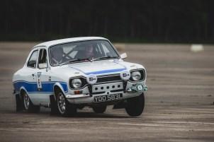 "HERO-ERA Challenge 2, Yorkshire Wolds 2021. ""6 - Elliott Dale - Charlotte Ryall, Ford Escort Mk1"""