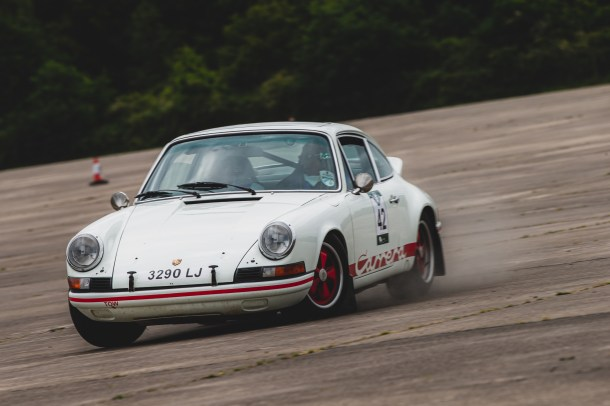 """HERO-ERA Challenge 2, Yorkshire Wolds 2021. """"42 - Paul Hernaman - """"""""Crow"""""""", Porsche 911"""""""