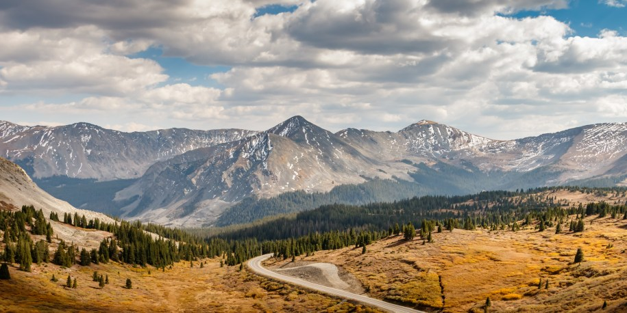 From the top of Cottonwood Pass, Colorado, USA