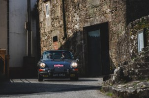 """HERO-ERA Classic Marathon 2021. """"22 Simon Blaxland + Simon Nelson , Porsche 911 E"""" The event that started the classic rallying scene back in 1988, travels through Northern Spain and Portugal in its latest incarnation."""