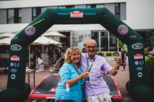 """HERO-ERA Classic Marathon 2021. """"34 Hanns Proenen + Resi Proenen , Opel Commodore B"""" The event that started the classic rallying scene back in 1988, travels through Northern Spain and Portugal in its latest incarnation."""