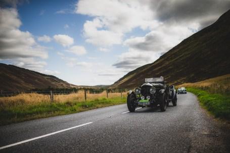 "Scottish Malts 2021, ""1 Andy Buchan + Roy Buchan , Bentley Le Mans"", Day 1 Dalmahoy Hotel & Country Club, Edinburgh, to Atholl Palace Hotel, Pitlochry."