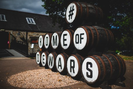 Scottish Malts 2021, Dewars Whiskey , Day 1 Dalmahoy Hotel & Country Club, Edinburgh, to Atholl Palace Hotel, Pitlochry.