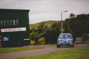 "Scottish Malts 2021, ""19 Malcolm Dunderdale + Anita Wickins , Renaults 8 Gordini"", Day 1 Dalmahoy Hotel & Country Club, Edinburgh, to Atholl Palace Hotel, Pitlochry."