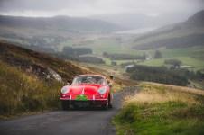 "Scottish Malts 2021, ""12 John Hilbery + Moira Hilbery , Porsche 356 B"", day 5, Crieff Hydro Hotel, Crieff to Dalmahoy Hotel and Country Club, Edinburgh."