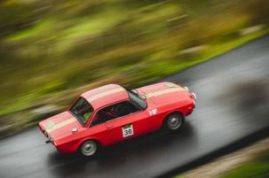 "Scottish Malts 2021,""36 Arnold van der Smeede + Patricia Berk , Lancia Fulvia 1600 HF"" , day 5, Crieff Hydro Hotel, Crieff to Dalmahoy Hotel and Country Club, Edinburgh."