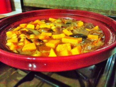 Sweet Potato Tagine 2