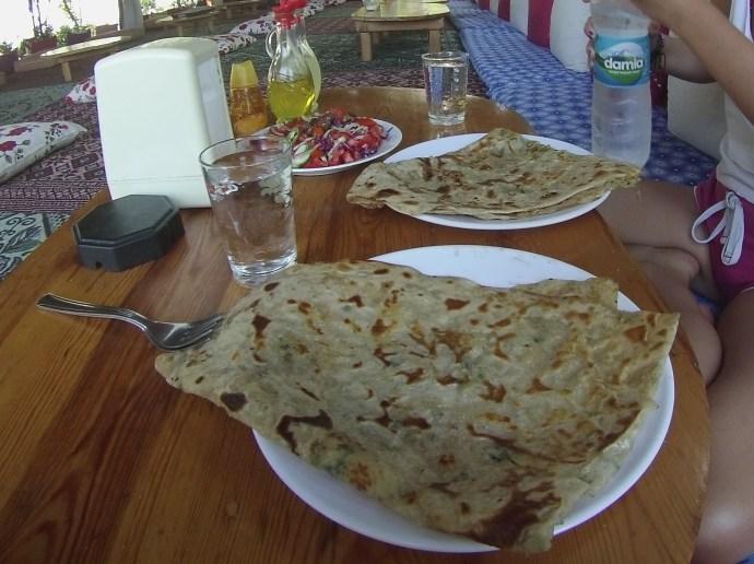 Turkish panckae, Turkish vegan food