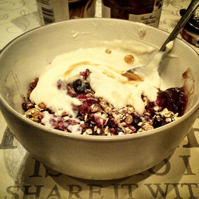 Simple Berry Crumble Recipe