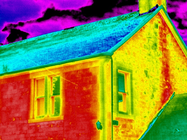 IR Cameras: Inspection Roofs