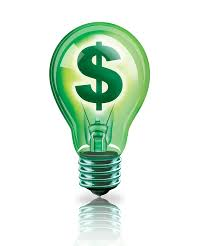 Save Money Lightbulb