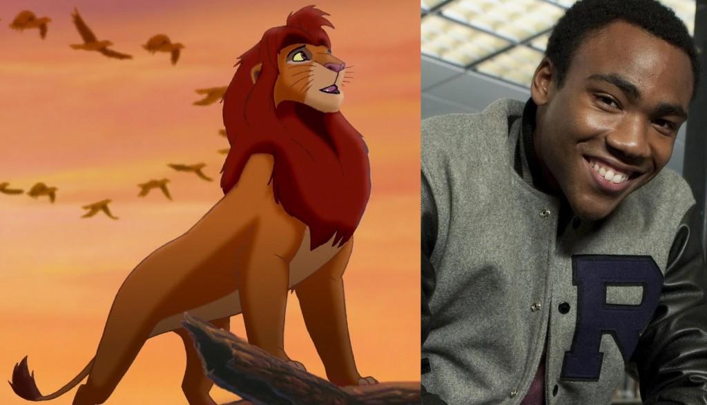 Lion King Simba Donald Glover