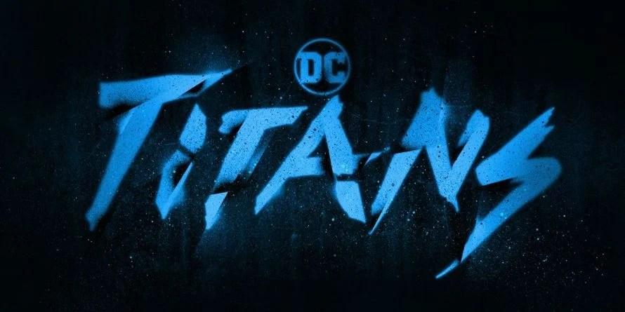 Titans DC Universe Logo Raven Blackfire