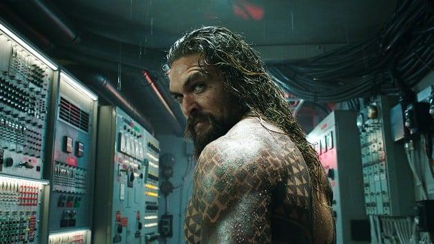DC universe Aquaman Jason Momoa Extended