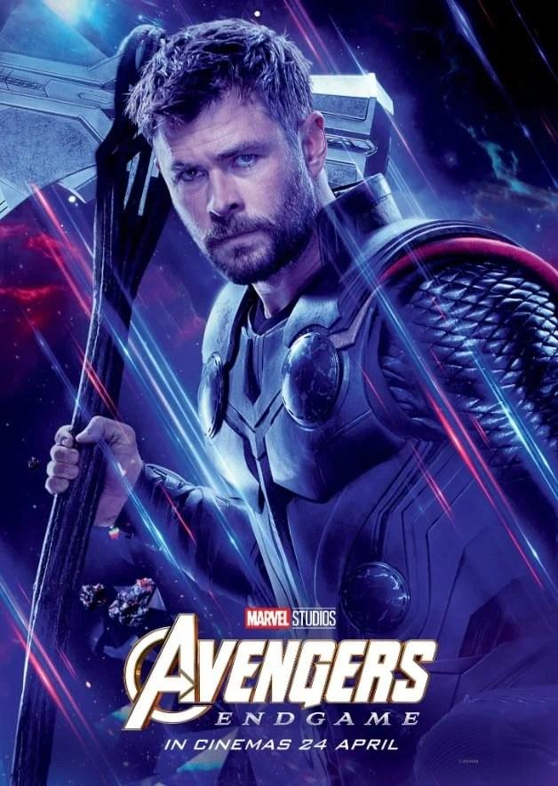 Avengers Endgame Chris Hemsworth Thor