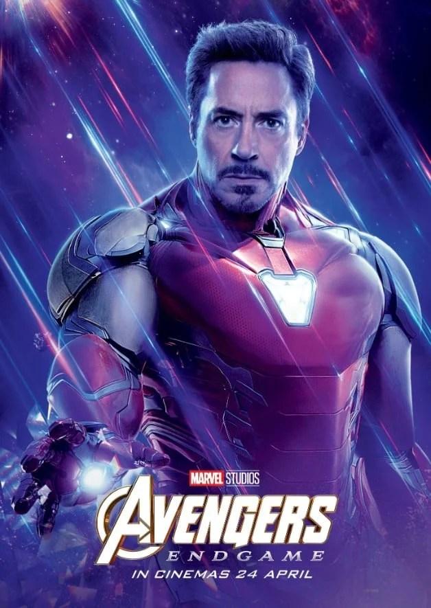 Avengers Endgame Robert Downey Jr. Iron Man