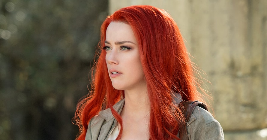 Amber Heard Teases 'Aquaman 2' Return With Sleepy Mera BTS Photo
