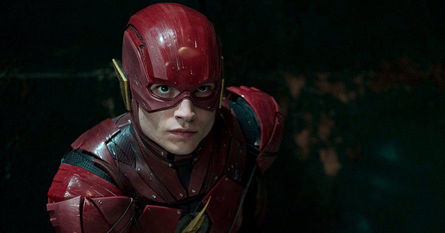 Andy Muschietti Reveals Logo For Ezra Miller's 'The Flash' As Filming Starts