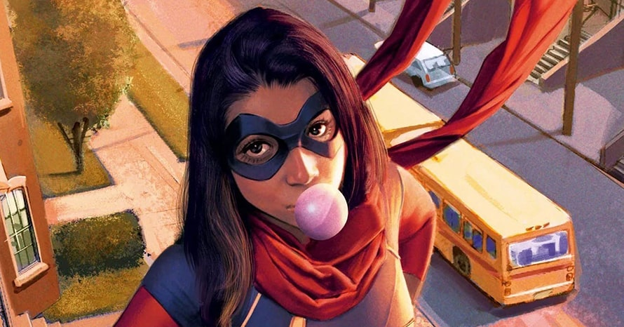 New Set Photos Reveal Iman Vellani's Ms. Marvel Suit For Disney Plus Series