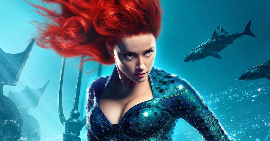 Amber Heard Queen Mera Aquaman 2 Justice League Zack Snyder