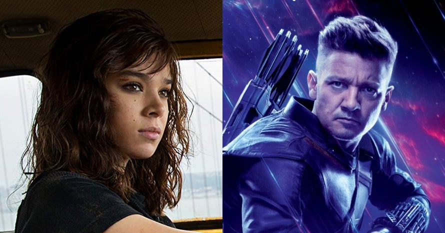 Hailee Steinfeld Takes Aim In New BTS Shots From 'Hawkeye' #exclusive 5