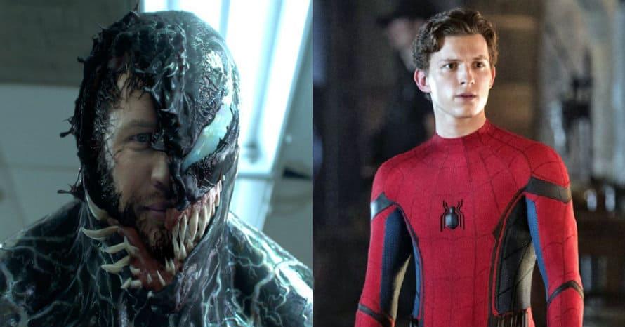 Venom Tom Hardy Spider-Man Tom Holland Sony Marvel Reuben Fleischer