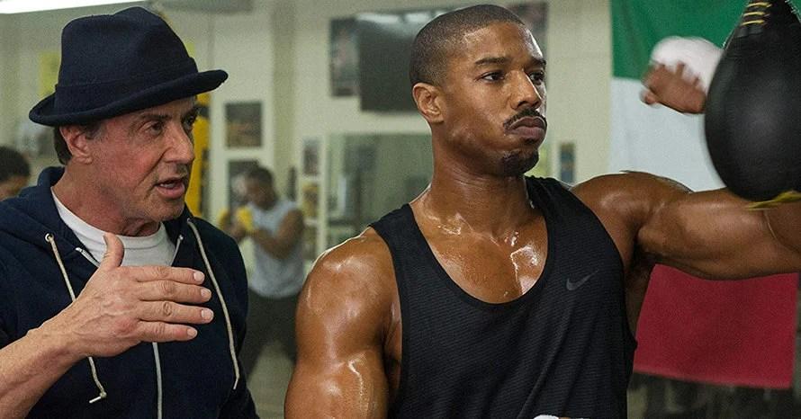 Creed Michael B. Jordan Sylvester Stallone Rocky Balboa