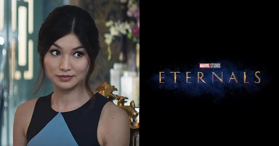 Gemma Chan The Eternals Marvel Sersi Kevin Feige