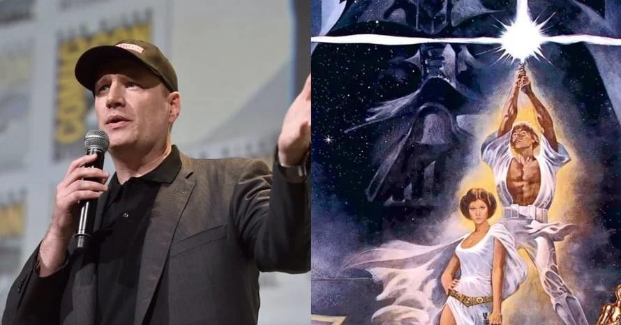 Kevin Feige Star Wars Avengers Marvel Studios