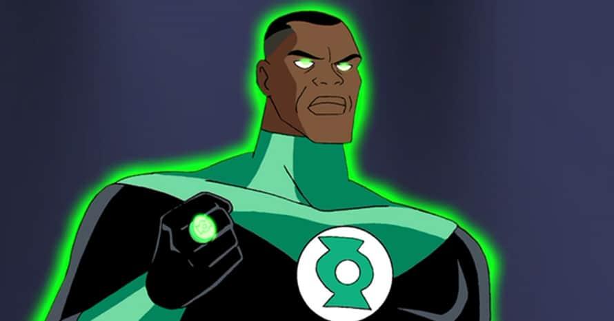 Justice League Green Lantern Corps John Stewart Phil LaMarr