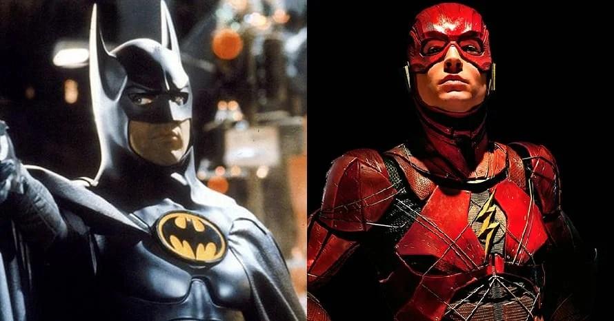 Michael Keaton Batman Returns The Flash Ezra Miller Ann Sarnoff Warner Bros. DC Universe