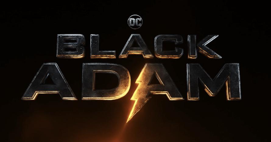 Dwayne Johnson Black Adam Logo