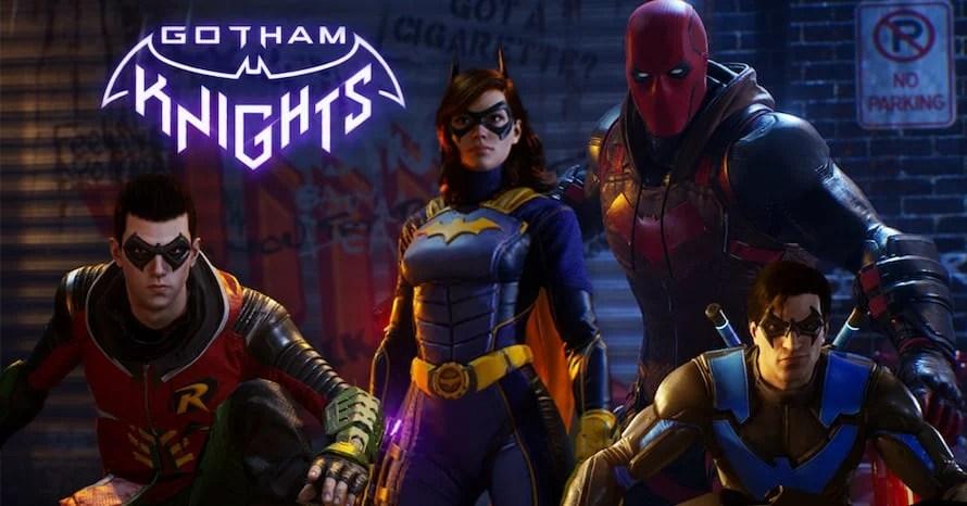 Gotham Knights Batman Commissioner Gordon Warner Bros