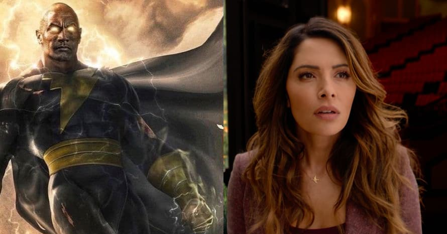 Sarah Shahi May Have Revealed Her Role In Dwayne Johnson's 'Black Adam'