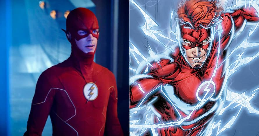See 'The Flash' Star Grant Gustin Become An Alternate Wally West