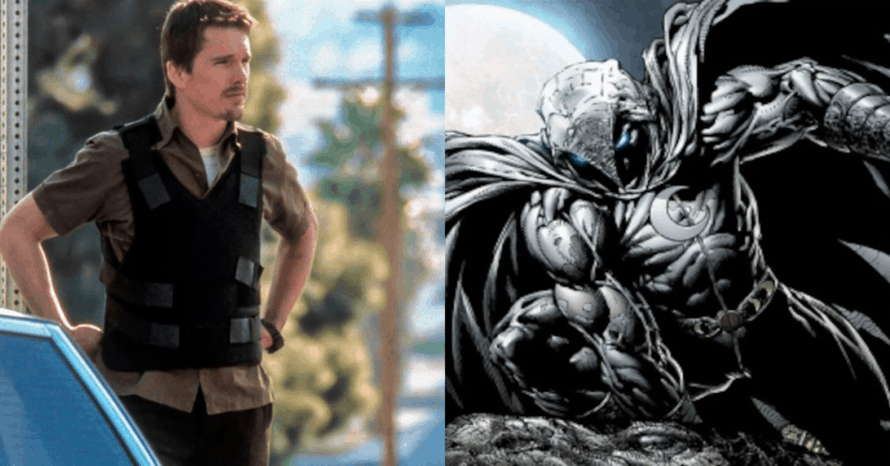 'Moon Knight' Set Photo Offers First Look At Ethan Hawke's Character