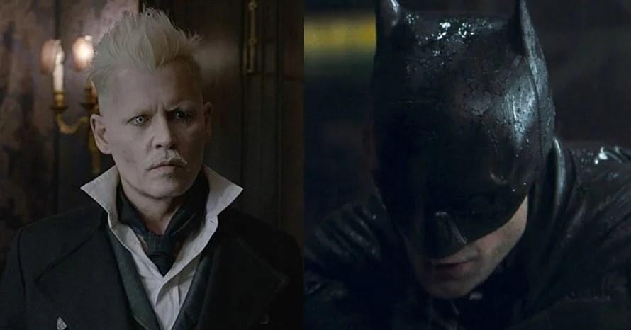 Johnny Depp The Batman Robert Pattinson joker