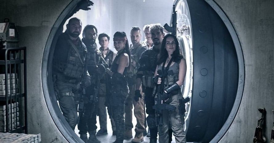 Zack Snyder Army of the Dead Cast Netflix