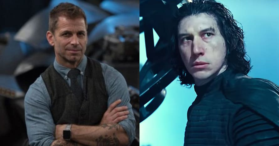 'Justice League': Zack Snyder Spoke To Adam Driver About A DC Role