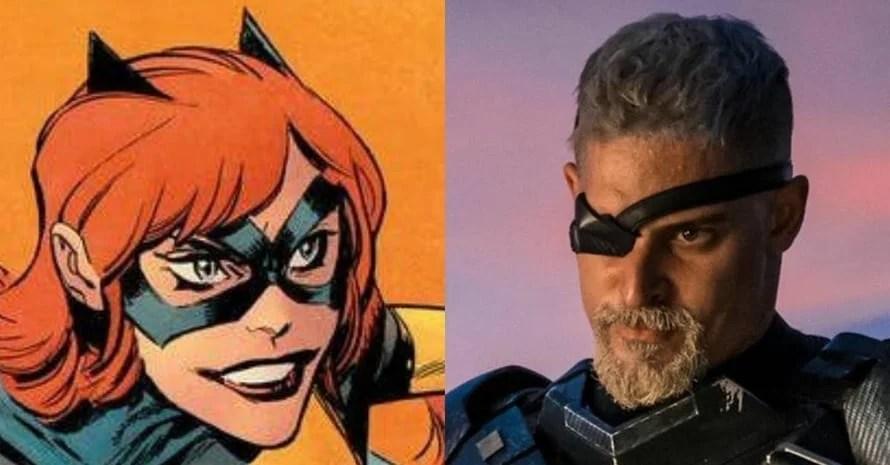 Ben Affleck Joe Manganiello The Batman Batgirl Deathstroke