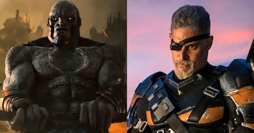 Darkseid Deathstroke Justice League