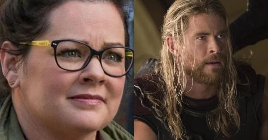 New Set Photos From Chris Hemsworth's 'Thor 4' Reveal Melissa McCarthy Cameo